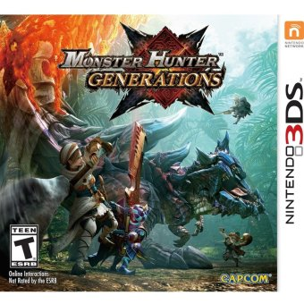 Harga 3DS Monster Hunter Generations / US (English)
