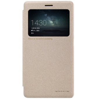 Harga Nillkin Leather Case Sparkle Series Super Thin Flip Cover For Huawei Ascend Mate S - intl