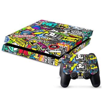BOMB Sticker Decal Skins For Sony PS4 Playstation 4 Console 2 Controller - intl