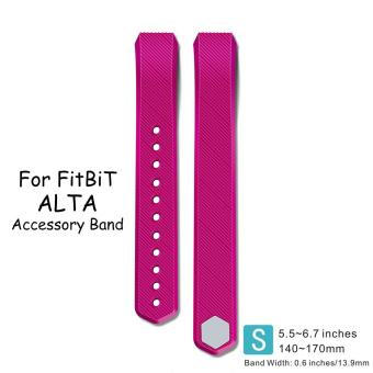 Harga Fitbit Alta and Fitbit Alta HR Starp,AWINNER Silicone Replacement Bands Bracelet Strap For Fitbit Alta HR and Alta(Small ) - intl