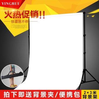 Harga Portable telescopic background cloth rack