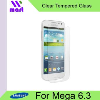 Harga Tempered Glass Screen Protector (Clear) For Samsung Mega 6.3