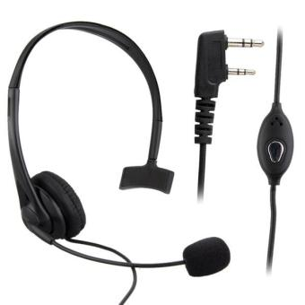 Harga High Quality Security Headset Earphone Headphone for Kenwood Walkie Radio