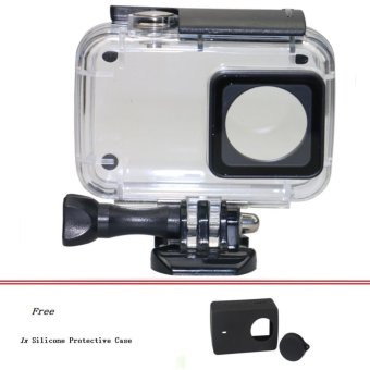Harga Diving 45m Waterproof Case for Xiaomi Xiaoyi YI Sports Camera II 2 Case Xiaomi YI 4K Action Camera 2 Protective Housing - intl