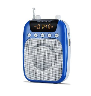 Harga 3-in-1 LoudSpeakers + Radio + MP3 Player Waist Hanging Blue