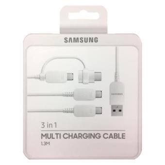 Harga Samsung 3 in 1 Multi Charging Cable 1.3 meters