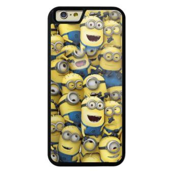 Harga Phone case for iPhone 6Plus/6sPlus Despicable Me Minions Crowd cover for Apple iPhone 6 Plus / 6s Plus - intl