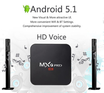 Harga Leegoal MXQ Pro Amlogic S905 Quard Core Tv Box Android 5.1 Smart TV Box 1080p HDMI 4k Streaming TV Box,UK Plug