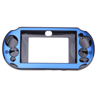 Harga Aluminum Skin Case Cover Shell for Sony PS Vita 2000(Navy Blue) - Intl