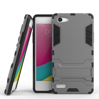 Harga BYT TPU+PC Neo Hybrid Phone Case for Oppo A33 / Oppo Neo 7 - intl