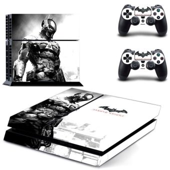 New Batman Decal PS4 Skin Sticker For Sony Playstation 4 PS4 Console protection film and 2Pcs Controller Protective skins - intl