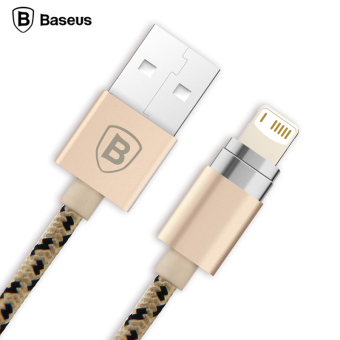 Baseus Magnetic Micro USB Cable Adapter Data Sync Charging Cable For iPhone 5S SE 6S Plus iPad Air mini Samsung Magnet Charger(connector-For Micro USB) - Intl
