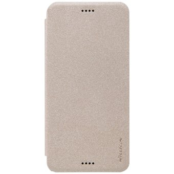 Harga Nillkin Leather Case Sparkle Series super Thin Flip Cover for HTC Desire 530 / 630 (Gold)