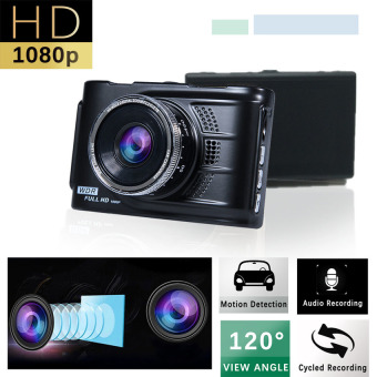 Harga Car Cameras HD Car DVR Car Camera Video Recorder Dash Cam Camcorder(Black)