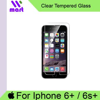 Harga Tempered Glass Screen Protector (Clear) For Apple Iphone 6Plus /6s Plus