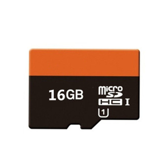 Harga WHD 16GB Micro SD Card (black red)