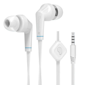 Harga Langsdom JD88 In-ear earphone High quality Stereo Bass Headsets handsfree 3.5mm Earbuds with MIC for IPhone Samsung mp3 phone PC (White) - Intl