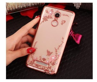 Harga Mobile phone protection shell electroplating printing soft shell phone case for Xiaomi Redmi Note 3 - intl