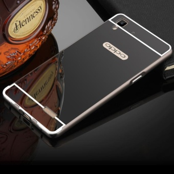 Alumunium Bumper With Mirror Backdoor Slide Emas Smartphone . Source · BYT Electroplated .