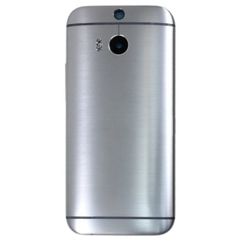 iPartsBuy Back Housing Cover Replacement for HTC One M8(Grey)