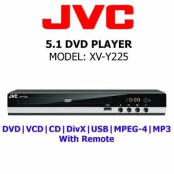 Jvc Xv-Y225 Multi-System 5.1 Dvd Player