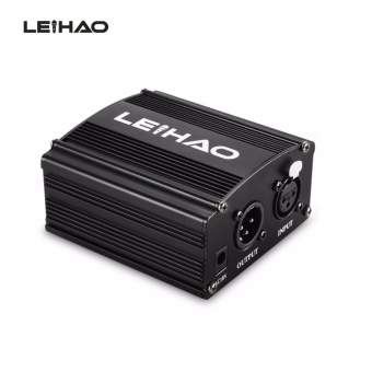 LEIHAO 48V Phantom Power Supply for Condenser Microphone - intl