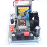 LM317 1.25V-12V Continuously Adjustable Regulated Voltage Power Supply DIY Kit with Transformer - intl