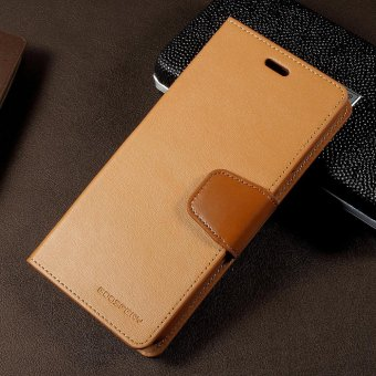MERCURY GOOSPERY Sonata Diary Wallet Leather Cover for Samsung Galaxy S8 Plus G955 - Brown