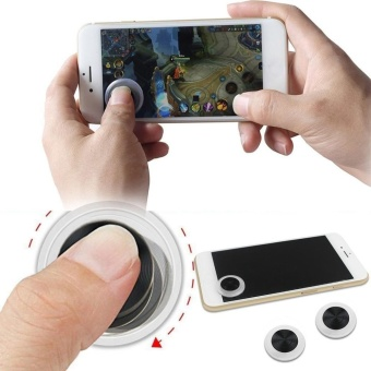 Mini Game Controller Touch Screen Mobile Joystick for iPad/ iPhone/ iPod - intl