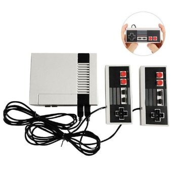 Mini Retro Red White Game Player TV Video Game Console Built-in 620 Games - intl