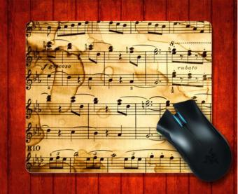 MousePad Music Notes for Mouse mat 240*200*3mm Gaming Mice Pad - intl