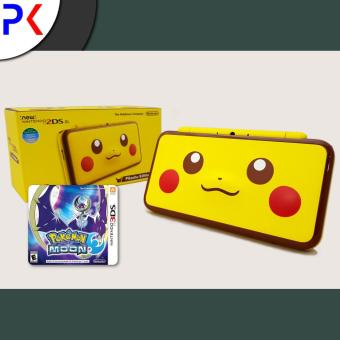 New 2DS XL (ASIA) - Special Edition + 3DS Pokemon Moon