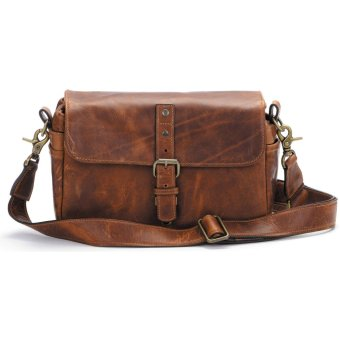 ONA Leather Bowery Camera Bag and Insert Antique Cognac