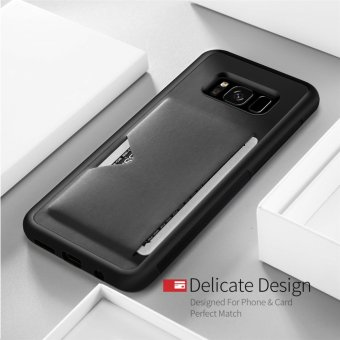 Phone Cover Case P Series for Samsung galaxy S8 (Black) - intl