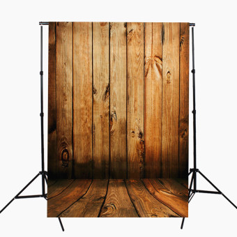 Photography Backdrops Background Cloth Wood Wall Floor Studio Photo 90x150cm