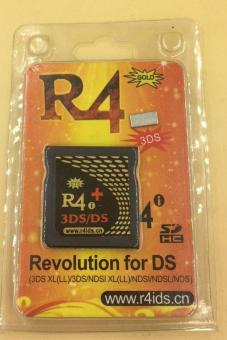 R4i GOLD 3DS for 2DS / 3DS (XL) / DS/DSi (XL)