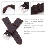 Replacement Top Leather Watch Band Strap for Huami Amazfit Bip BIT PACE Lite Youth Smart Watch - intl - 5