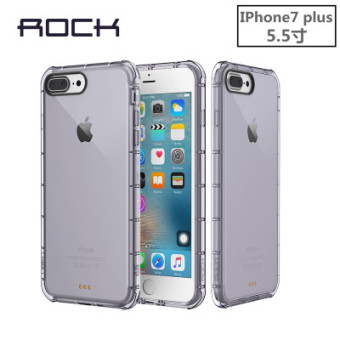 Rock iphone7/iphone7plus/iphone8 cushion drop-resistant whole package transparent silicone phone case