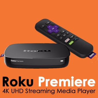 Roku Premiere - HD and 4K UHD Streaming Media Player - intl