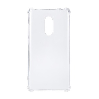 Shockproof TPU Anti-fingerprint Clear Protective Case for Xiaomi Redmi Note 4 - intl