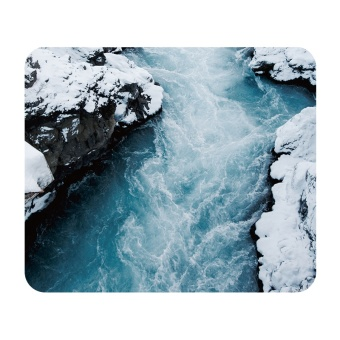 Harga Soft rubber mat art all things Chi Cool mouse pad