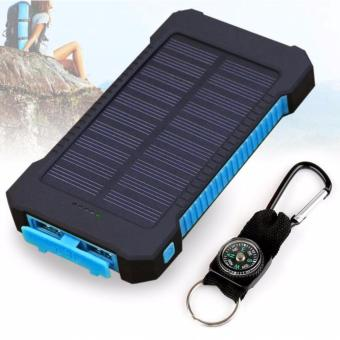 Harga Solar Powerbank 20000mAh Dual USB Ports with FREE Compass