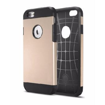 Tough Armour Case Casing Cover for iPhone 6 Plus / 6S Plus (Gold)