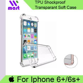 TPU Shockproof Transparent Soft Case For Apple Iphone 6 Plus 6s Plus