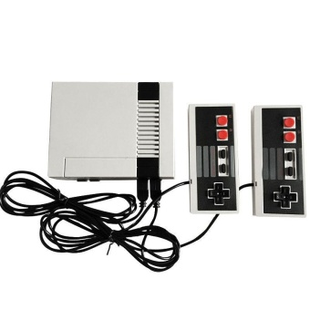 TV Video Game Console For NES Classic 8 Bit Game Player Built-In 500 Games + Dual Controllers Specification:US Plug - intl