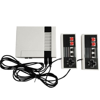 TV Video Game Console For NES Classic 8 Bit Game Player Built-In 620 Games + Dual Controllers Specification:US Plug - intl
