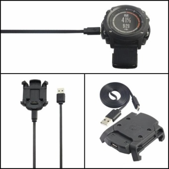 USB Dock Charger Charging Data Sync Cable Band for Garmin Fenix 3HR - intl