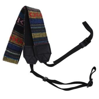 Vintage Neck Shoulder Straps Belt for Digital Camera SLR Camera Camcorder - intl