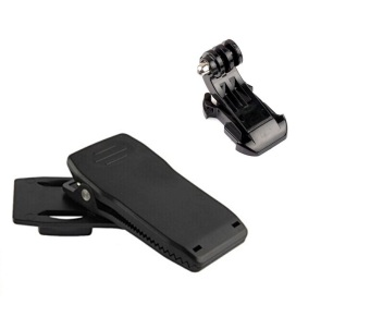 Vococal J Buckle + 360 Degree Bag Quick Release Clip for GoPro Hero 3 2 1 3+