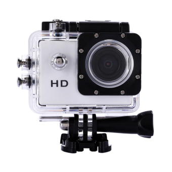 Waterproof Sports Action Camera DV DVR 2.0 SJ4000 (White) (EXPORT)